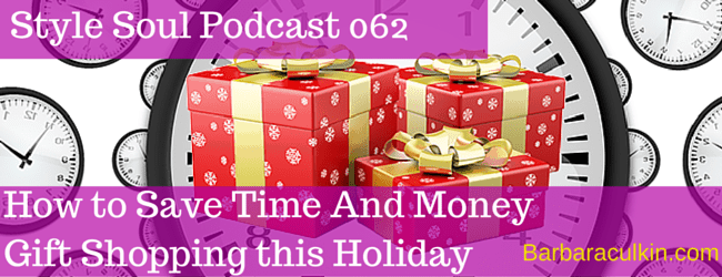SSP 062: How to Save Time And Money Gift Shopping This Holiday
