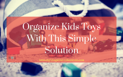 Organize Kids Toys With This Simple Solution