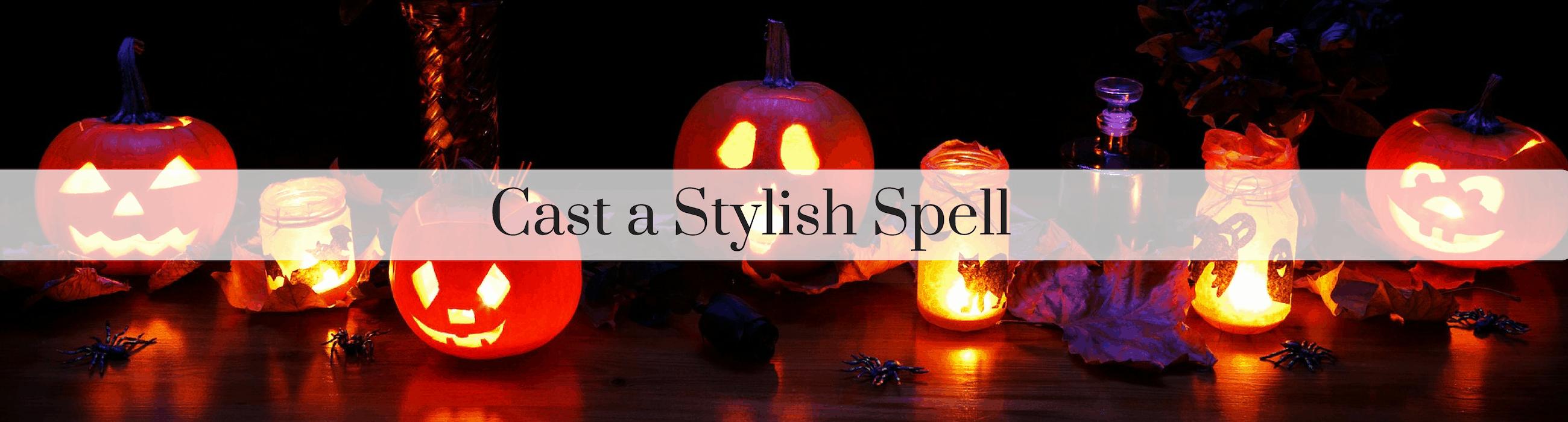 Cast a Stylish Spell Spooky Halloween Celebration