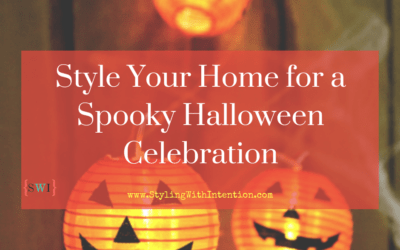 Style Your Home for a Spooky Halloween Celebration