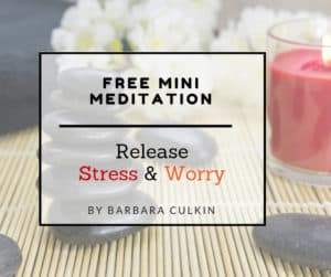 release stress and worry