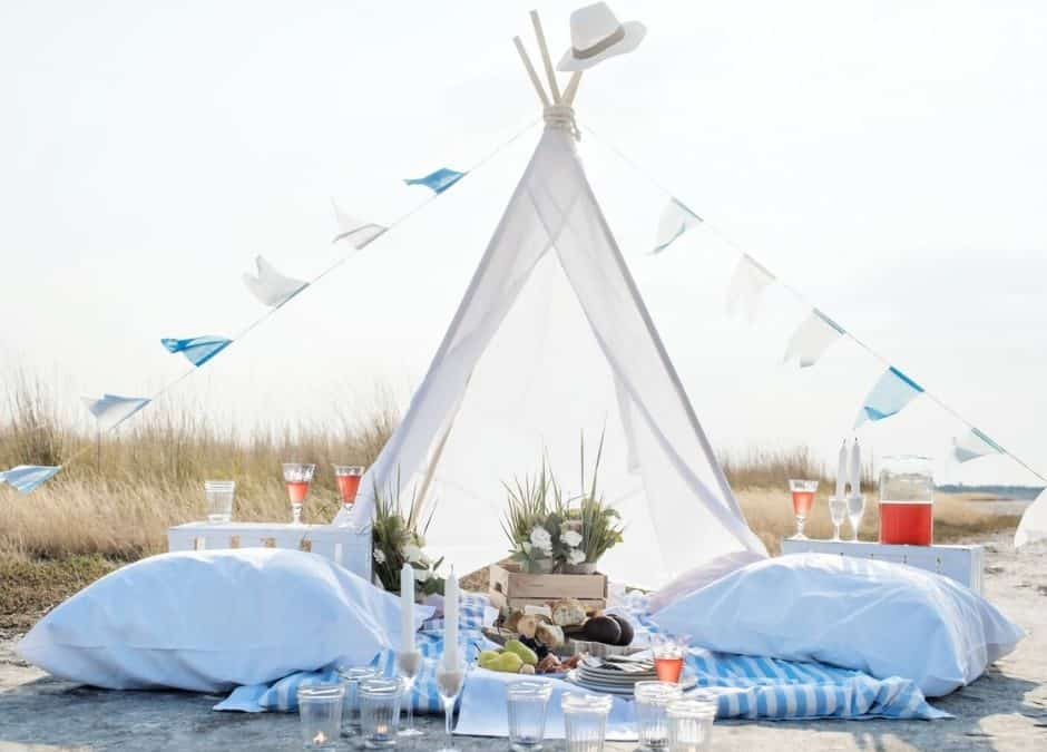 5 Easy Ways to Beach Style Glamping